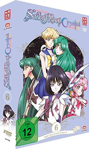 Sailor Moon Crystal - Staffel 3 - Vol.2 - Box 6 - [DVD] [Alemania]