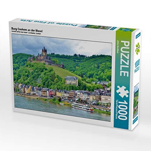 CALVENDO Puzzle Burg Cochem an der Mosel 1000 Teile Lege-Größe 64 x 48 cm Foto-Puzzle Bild von Jutta Heußlein