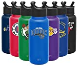 Simple Modern NBA Orlando Magic 32oz Water Bottle with Straw Lid Insulated Stainless Steel Summit