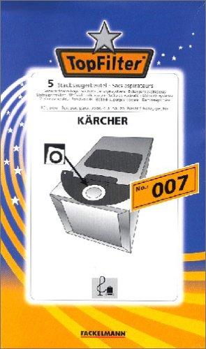 Fackelmann Top Filter 3 Staubsaugerbeutel Nr. 007