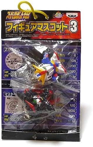 Super Robot Wars figures mascot 3 Z Gundam Master Gundam