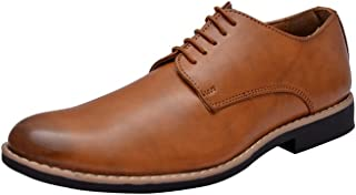 HiREL'S Tan Derby Lace Up/Office/Dress Formal Shoes