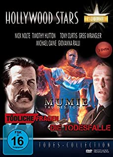 Hollywood Stars - Todes Collection (Mumie-Tal des Todes+Tödliche Fragen+Die Todesfalle) [3 DVDs]