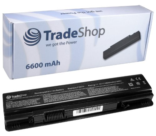 Hochleistungs Laptop Notebook AKKU 6600mAh ersetzt Dell F286H F287F F287H R988H G069H F-286-H F-287-F F-287-H R-988-H G-069-H für Dell Inspiron 1410 Vostro 1014 1015 1014n 1015n 1088 1088n A840 A860 A860n A-840 A-860