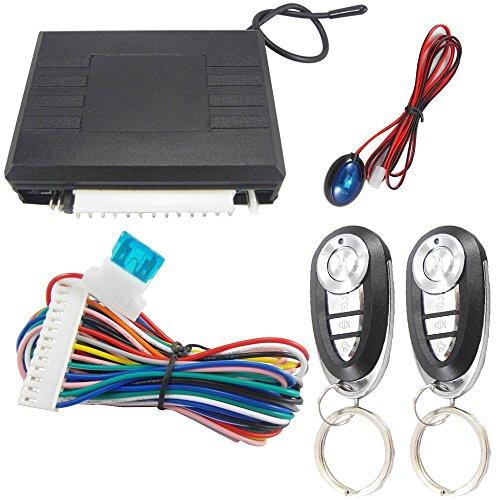 Mintice trade; KFZ Auto Funkfernbedienung für vorhandene Original Zentralverriegelung Schließsystem Keyless 03 Alarm Schlüssel