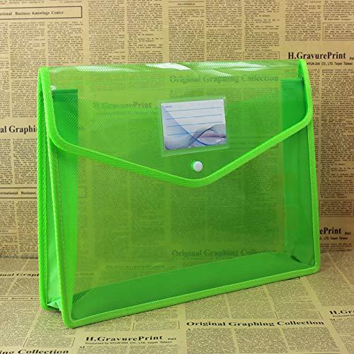 Klassifizierungsmanager der Plastikdatei A4, Aktenbeutel, Aktenaufbewahrungstasche, transparente Farbe, 2 36.5 * 28.5 * 6.5CM