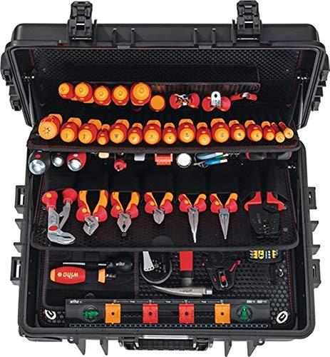 WIHA Werkzeugsortiment 115 teilig, im Schutzkoffer