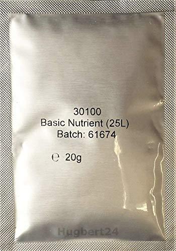 Hugbert Grundnährstoff Basic Nährstoff Hefenahrung für Wein gären Selbstbrauen, 5 Stück