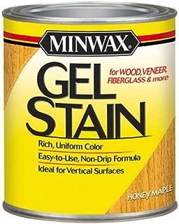 Minwax 66040000 Gel Stain , quart, Honey Maple