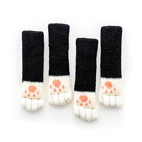 Zreal pootbeschermers, sokken, meubels, stoel, antislip, voor sokken, tafels, voeten, 4 stuks