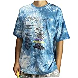 Berrywho Sommer-t-Shirt Short Sleeve T-Shirt Baumwolle Abbindebatik Paare T-Shirts Damenbekleidung Loser Rundhalsausschnitt Harajuku Tops
