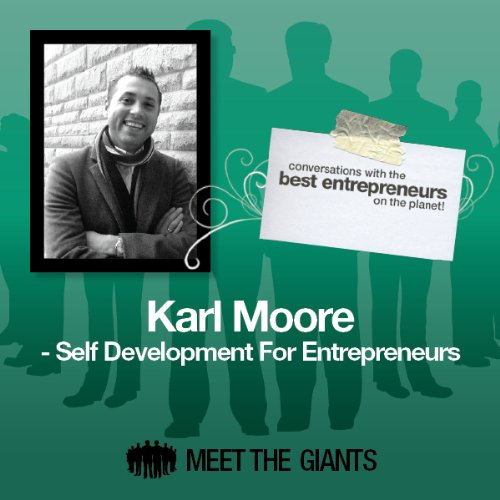 Karl Moore - Self Development for Entrepreneurs audiobook cover art