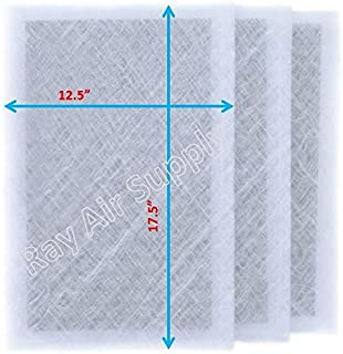 RAYAIR SUPPLY 14x20 Air Ranger Replacement Filter Pads 14X20 (3 Pack) White