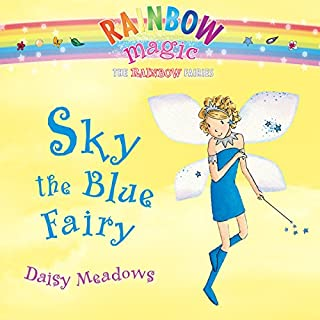 Rainbow Magic: Sky the Blue Fairy audiobook cover art