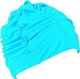 LEFV(TM) Swimming Cap Long Hair Swim Hat Solid Color Lycra Caps Non-waterproof