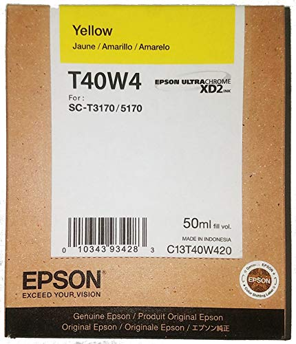 Epson T40W420 Yellow T40W420 Ultrachrome XD2 Yellow High Capacity Cartridge Ink