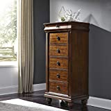 Liberty Furniture Industries Traditions Lingerie Chest, 26' x 18' x 55', Rustic Cherry