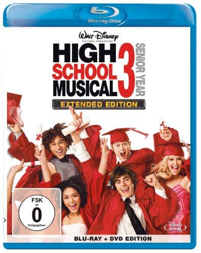 High School Musical 3: Senior Year - Extended Edition  (+ DVD) [Blu-ray]