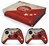 Controller Gear Officially Licensed Console Skin Bundle for Xbox One X - Fallout - Nuka Cola - Xbox One