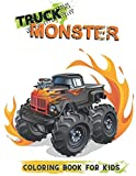 Coloring Book For Kids Monster Truck: Cars Jumbo Color Book | Great Gift for Boys & Girls Ages 4-8 (Fun, Screen-Free Activities for Kids)
