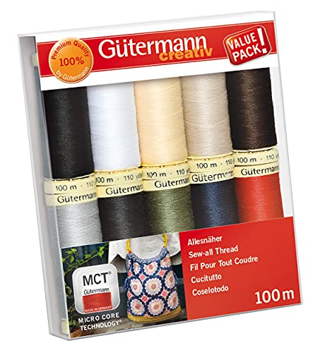 Hilo de coser Gutermann Basic Colours