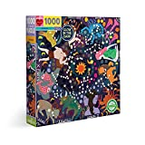 eeBoo's Piece and Love Zodiac Constellation 1000 Piece Square Adult Jigsaw Puzzle Glow in The Dark