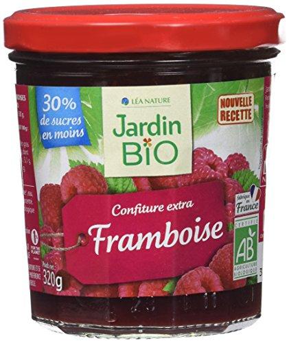 Jardin BiO étic Confiture extra Framboise