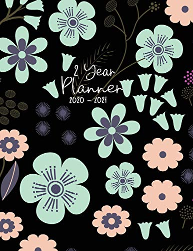 2020-2021 Planner 2 Year: Two Years Planner Calendar Personalized January 2020 up to December 2021 Business Planners with Holidays Contains extra ... boxes to write events (2 year garden planner)