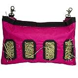 Sac de Foin Suspendu Feeder Bag Feed Device Device Supply Lapin Cochon d'Inde Chinchillas Petit Animal Jouet pour Animaux Long...