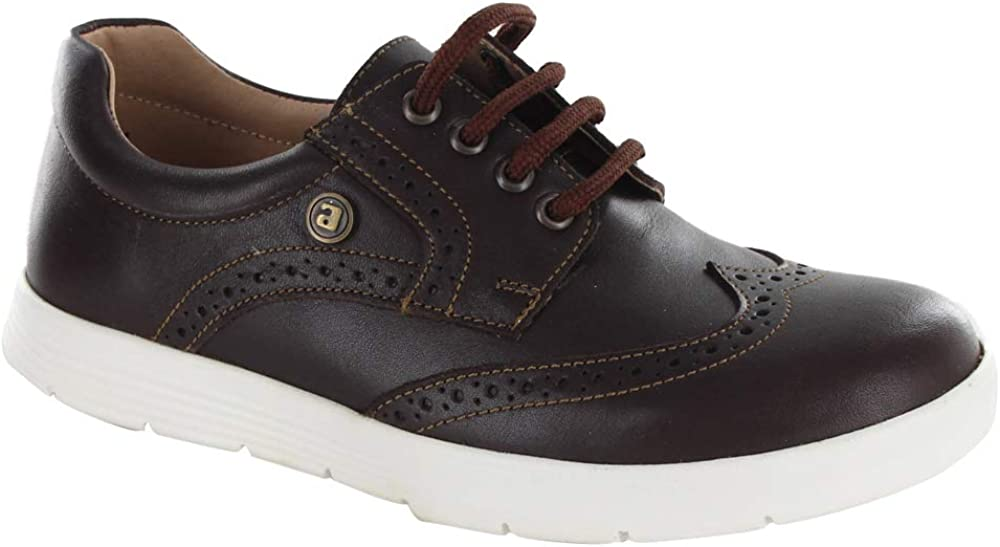 Kids Leather Oxford Shoes with Laces Casual (Little Kid/Big Kid)