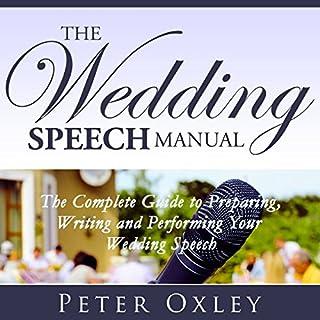 The Wedding Speech Manual audiobook cover art