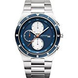 BERING Time | Men's Slim Watch 34440-708 | 40MM Case | Solar Collection | Stainless Steel Strap | Scratch-Resistant Sapphire Crystal | Minimalistic - Designed in Denmark