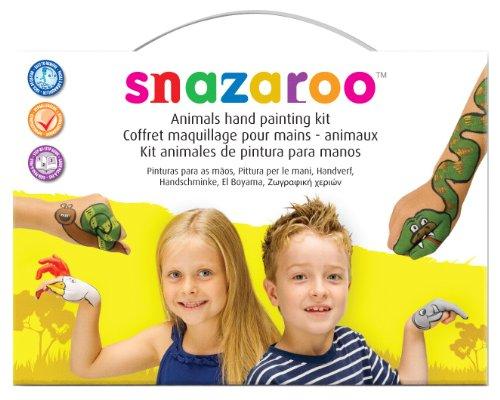 Snazaroo - 20005 - Kit De Maquillage Pour Les Mains - Modèle Animaux
