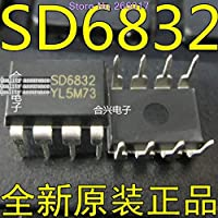 10PCS SD6832 sd6832 DIP-8 In Stock