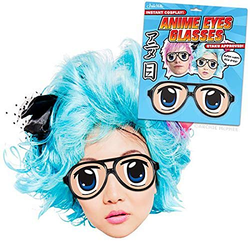 Accoutrements Spaß-Brille ANIME EYES GLASSES