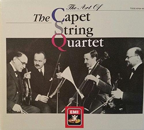 カペー弦楽四重奏団の芸術の詳細を見る
