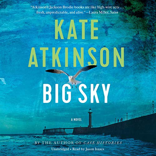Big Sky audiobook cover art
