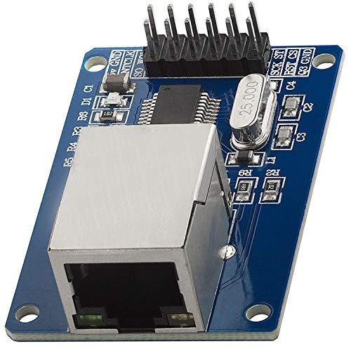 AZDelivery ENC28J60 Ethernet Shield LAN Netzwerk Modul kompatibel mit Arduino inklusive E-Book!
