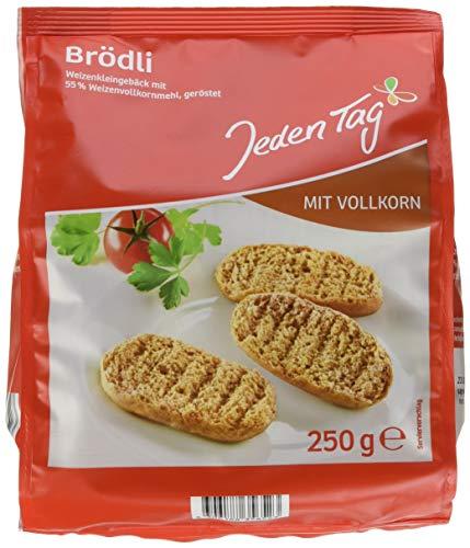 Jeden Tag Vollkorn Brödli, 250 g