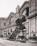 1art1 Züge - Zugunglück Am Bahnhof Montparnasse, Paris,