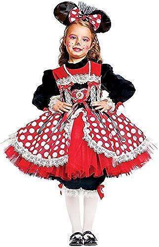 Carnevale Venizano CAV50558-6 - Kinderkostüm TOPINA Prestige Baby - Alter  1-6 Jahre - Größe  6