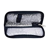 Insulin Cooler Travel Case Insulin Bag Insulin Cooler Case Portable Diabetic Organizer Case for Traveling or Outdoor (2 Colors) (Color : Navy Blue)