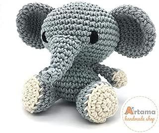 Elefante de amigurumi