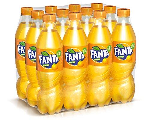 Fanta Naranja 500ml (paquete de 12 x 500 ml)