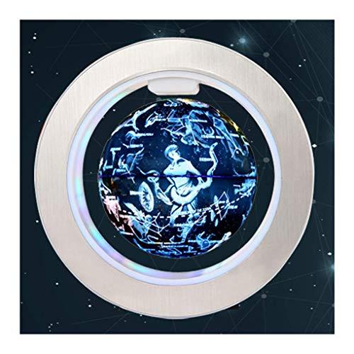 6 Pulgadas Levitación Globo Flotante 88 Constelación Glow World Map Globe, Estrellas Mapa geográfico de astronomía giratoria, Regalos navideños únicos