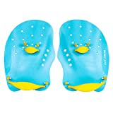 Palas de natación Joso, aleta de mano con correa ajustable,...