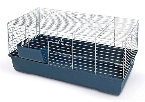 MPS SNC Gabbia per Conigli Sonny 80X45X42 CM Apertura Superiore Metallo Coniglio