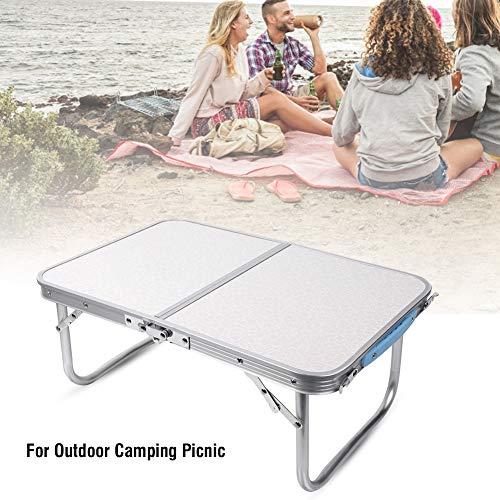 AYNEFY Klapptisch tragbar Camping Tisch Dinnergarten Party Tisch Outdoor Picknicktisch 60 x 40 x 26 cm
