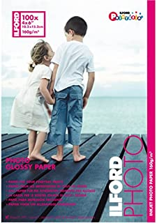 Ilford Photo Glossy 4 x 6 Inch Photo Paper 100 Sheets