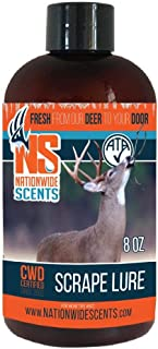 Nationwide Scents Scrape Lure Deer Attractant Urine | Pure Active Scrape Lure Buck Hunting Spray Scent